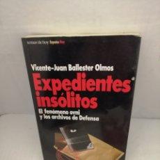 Libros de segunda mano: EXPEDIENTES INSÓLITOS: EL FENÓMENO OVNI Y LOS ARCHIVOS DE DEFENSA (PRIMERA EDICIÓN). Lote 220847353