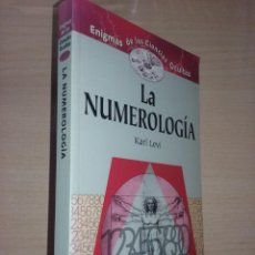 Libros de segunda mano: LA NUMEROLOGIA - KARL LEVI (ENIGMAS DE LAS CIENCIAS OCULTAS). Lote 221381293
