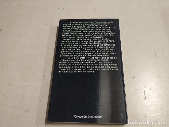 Libros de segunda mano: GALERÍA DE CONDENADOS - ANTONIO RIBERA - 1ª EDICIÓN - UFOLOGÍA - Foto 5 - 221698920