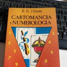 Libros de segunda mano: CARTOMANCIA Y NUMEROLOGIA. Lote 221917826
