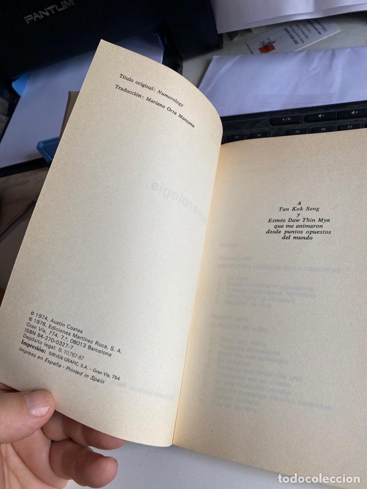 Libros de segunda mano: Numerologia - Foto 3 - 221917982