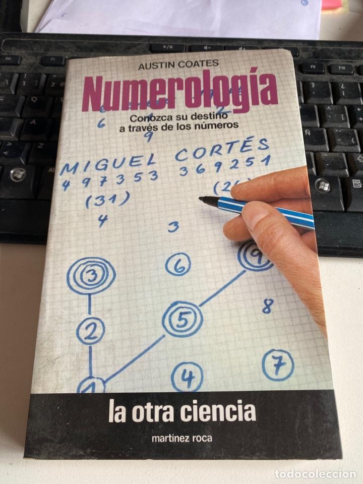NUMEROLOGIA (Libros de Segunda Mano - Parapsicología y Esoterismo - Numerología y Quiromancia)