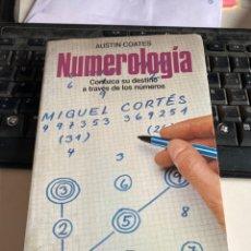 Libros de segunda mano: NUMEROLOGIA. Lote 221917982