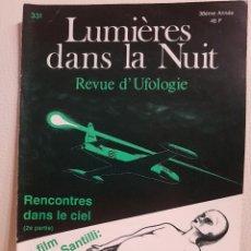 Libros de segunda mano: REVISTA UFOLÓGICA FRANCESA LUMIERES DANS LA NUIT - Nº 331 - ENERO-FEBRERO 1995 - OVNIS. Lote 222091932