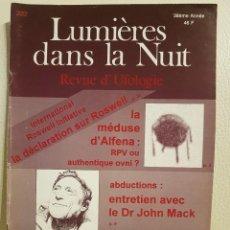 Libros de segunda mano: REVISTA UFOLÓGICA FRANCESA LUMIERES DANS LA NUIT - Nº 332 - MARZO-ABRIL 1995 - OVNIS. Lote 222091963