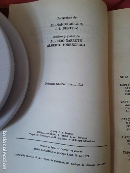 Libros de segunda mano: 100.000 kilómetros tras los ovnis, de J.J.Benitez. 1a edición. Otros mundos. Plaza y janes - Foto 3 - 222086875
