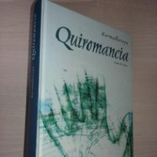 Livres d'occasion: QUIROMANCIA - KARMADHARAYA (EDITORIAL CIRCULO DE LECTORES). Lote 232816220