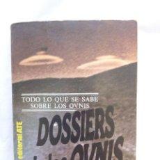 Libros de segunda mano: DOSSIERS DE LOS OVNIS / HENRY DURRANT.. Lote 222556431