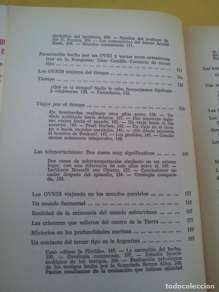 Libros de segunda mano: FABIO ZERPA - LOS HOMBRES DE NEGRO Y LOS OVNIS - PLAZA & JANES 1979 - EDICION ILUSTRADA - Foto 5 - 222619258