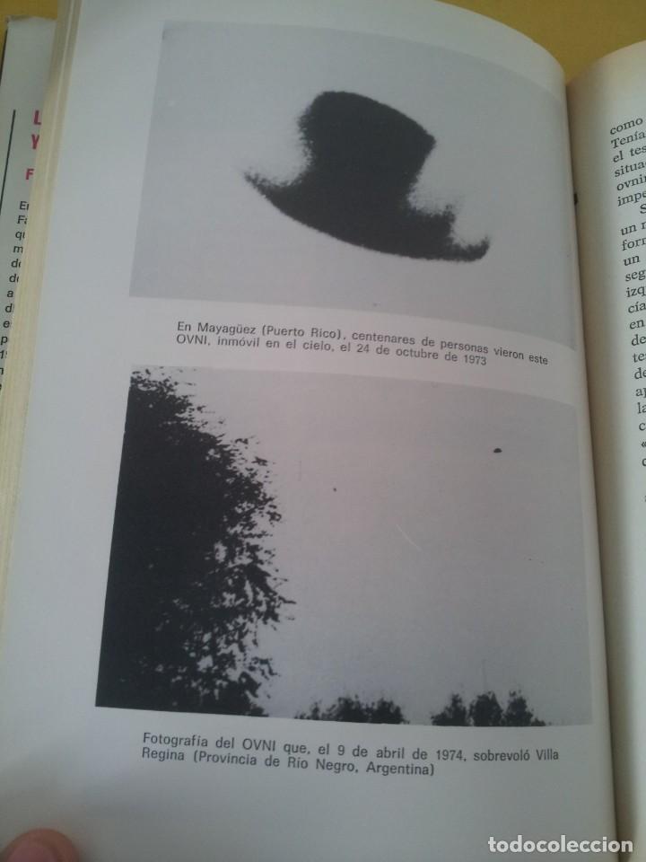 Libros de segunda mano: FABIO ZERPA - LOS HOMBRES DE NEGRO Y LOS OVNIS - PLAZA & JANES 1979 - EDICION ILUSTRADA - Foto 7 - 222619258
