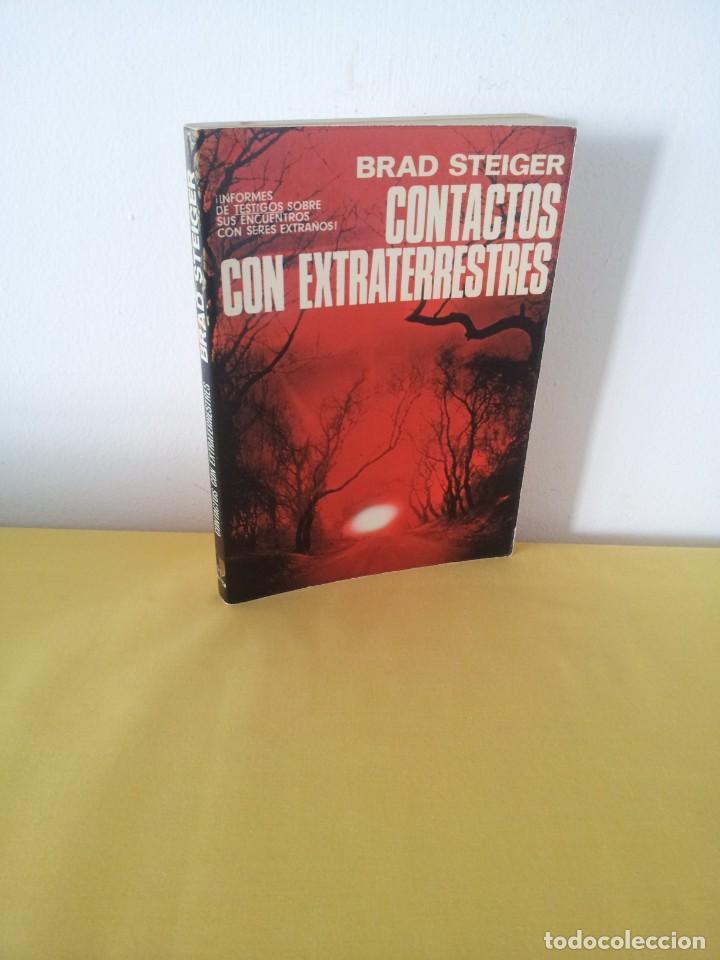 BRAD STEIGER - CONTACTOS CON EXTRATERRESTRES - EDAF 1979 (Libros de Segunda Mano - Parapsicología y Esoterismo - Ufología)