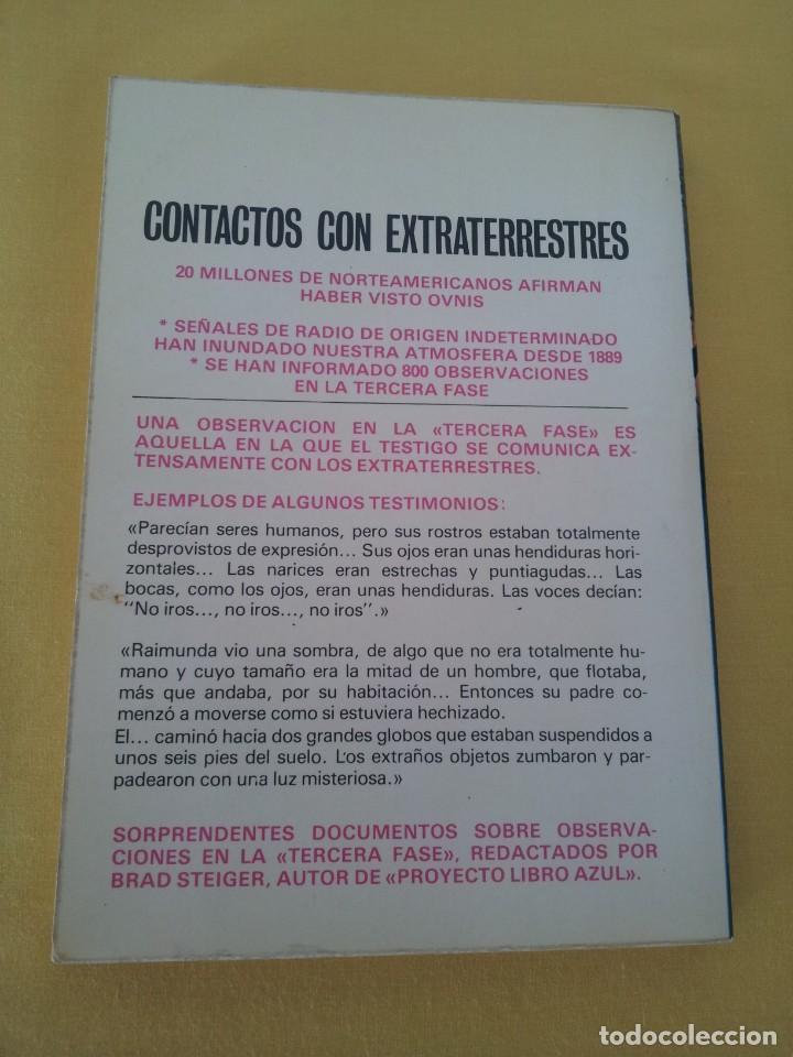 Libros de segunda mano: BRAD STEIGER - CONTACTOS CON EXTRATERRESTRES - EDAF 1979 - Foto 3 - 222623741