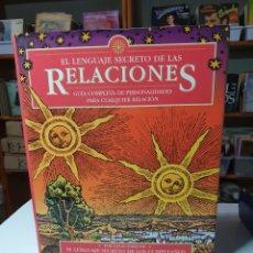 Libros de segunda mano: EL LENGUAJE SECRETO DE LAS RELACIONES, GARY GOLDSCHNEIDER- JOOST ELFFERS.. Lote 223984185