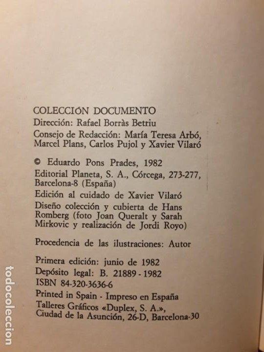 Libros de segunda mano: El mensaje de otros mundos, de Eduardo Pons Prades. Escaso. Excelente estado. - Foto 3 - 288380963
