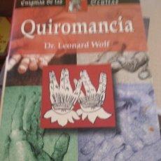 Libros de segunda mano: QUIROMANCIA. DR. LEONARD WOLF. Lote 225369660