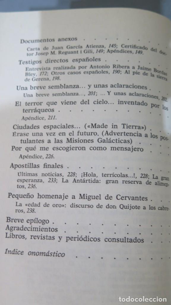 Libros de segunda mano: EL MENSAJE DE OTROS MUNDOS. EDUARDO PONS PRADES - Foto 3 - 227910465