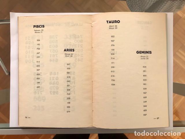 Libros de segunda mano: Guía de los números: 8 años completos (...) . Número de la suerte: charada china - Foto 4 - 228702255