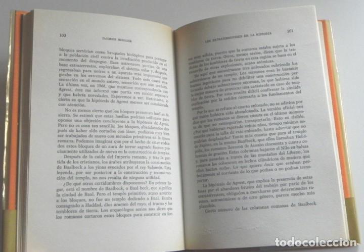 Libros de segunda mano: LOS EXTRATERRESTRES EN LA HISTORIA LIBRO JACQUES BERGIER MISTERIO ALIENÍGENAS -¿ OVNIS UFOLOGÍA ? OM - Foto 3 - 229367685