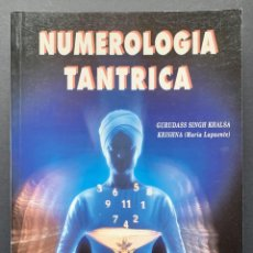 Livres d'occasion: NUMEROLOGÍA TÁNTRICA. Lote 230038935