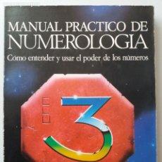Livres d'occasion: MANUAL PRACTICO DE NUMEROLOGIA / JULIA LINE. Lote 235025395