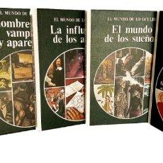 Livres d'occasion: 9 TOMOS EL MUNDO DE LO OCULTO - EDITORIAL NOGUER - AÑO 1976 - PARAPSICOLOGIA. Lote 235592570