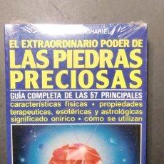 Livres d'occasion: EL EXTRAORDINARIO PODER DE LAS PIEDRAS PRECIOSAS-GUIA COMPLETA-ENVIO GRATUITO. Lote 238629020