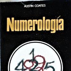 Libros de segunda mano: AUSTIN COATES - NUMEROLOGÍA. Lote 241004765