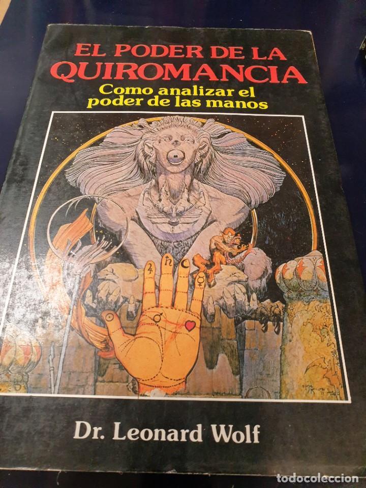 Libros de segunda mano: el poder de la quiromancia y manual practico de quiromancia libro de trabajo(2 libros ) - Foto 2 - 241955005