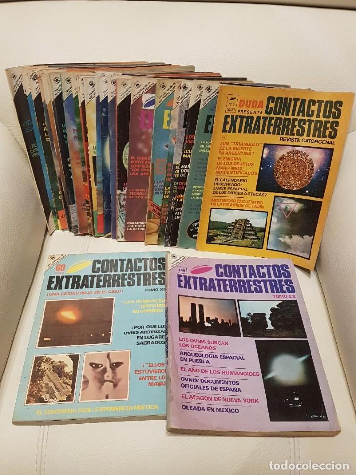 LOTE DE 37 NÚMEROS DE LA REVISTA UFOLÓGICA MÉXICANA CONTACTOS EXTRATERRESTRES-OVNIS-UFOLOGÍA (Libros de Segunda Mano - Parapsicología y Esoterismo - Ufología)
