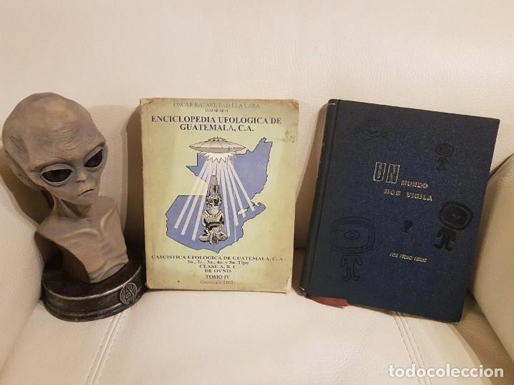 2 LIBROS ÚNICOS E INENCONTRABLES SOBRE UFOLOGÍA, OVNIS Y EXTRATERRESTRES - ESPECIAL COLECCIONISTAS (Libros de Segunda Mano - Parapsicología y Esoterismo - Ufología)