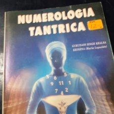 Libros de segunda mano: NUMEROLOGIA TANTRICA. Lote 254517730