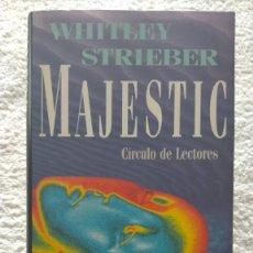 Libros de segunda mano: MAJESTIC WHITLEY STRIEBER 21 X 13 X 2,5. Lote 254684420