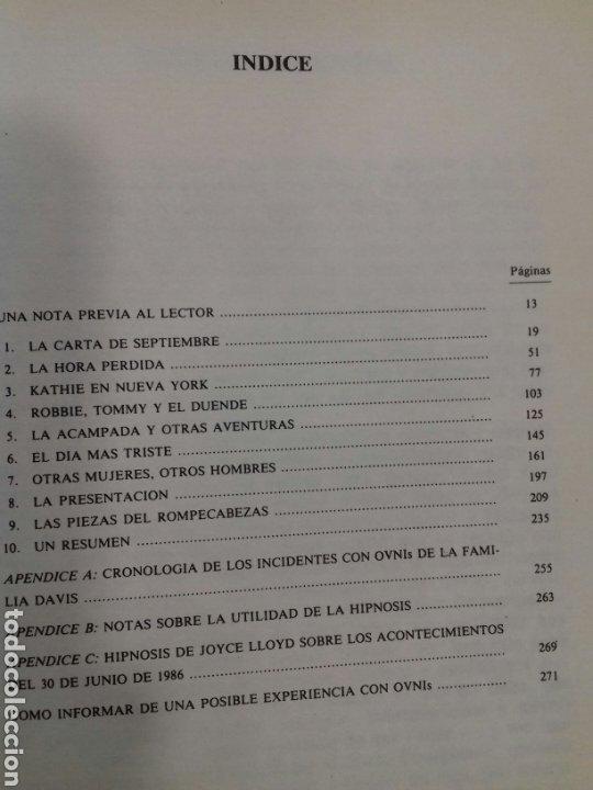 Libros de segunda mano: INTRUSOS. LAS INCREIBLES VISITAS A COPLEY WOODS. BUDD HOPKINS. EDAF 1988. - Foto 2 - 254726360