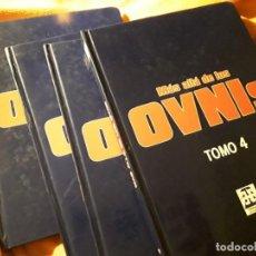 Libros de segunda mano: MAS ALLA DE LOS OVNIS. ENCICLOPEDIA 4 TOMOS (COMPLETA). HEPTADA. EXTRATERRESTRES, ALIENIGENAS. Lote 254207265