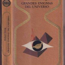 Libros de segunda mano: GRANDES ENIGMAS DEL UNIVERSO - RICHERD HENNIG - COLECCIÓN OTROS MUNDOS PLAZA JANÉS 1975. Lote 257410885
