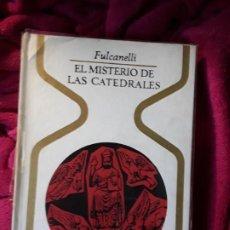 Libros de segunda mano: EL MISTERIO DE LAS CATEDRALES, DE FULCANELLI. EXCELENTE ESTADO. OTROS MUNDOS.. Lote 258152350