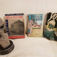 Libros de segunda mano: 3 LIBROS ÚNICOS E INENCONTRABLES SOBRE UFOLOGÍA, OVNIS Y EXTRATERRESTRES - ESPECIAL COLECCIONISTAS. Lote 262556045