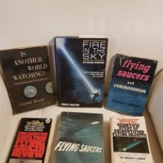 Libros de segunda mano: LOTE DE 6 MÍTICOS LIBROS EN INGLES SOBRE UFOLOGÍA - MUY RAROS - OVNIS - EXTRATERRESTRES - UFOS. Lote 262565290