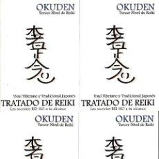 Libros de segunda mano: TRATADO DE REIKI- LOS SECRETOS REI-HO A TU ALCANCE (TERCER NIVEL DE REIKI). Lote 262676980