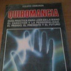 Libros de segunda mano: LIBRO GUIA DE QUIROMANCIA. NUEVO Y PRECINTADO. Lote 262845815