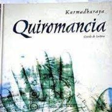 Libros de segunda mano: QUIROMANCIA KARMADHARAYA. Lote 263012865