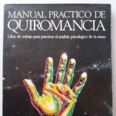 Livres d'occasion: MANUAL PRACTICO DE QUIROMANCIA / NATHANIEL ALTMAN. Lote 269047768