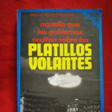 Libros de segunda mano: LOS PLATILLOS VOLANTES- SAULLA DELLO STROLOGO,DE VECCHI,1979. Lote 269203063