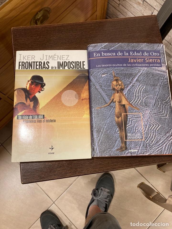 LOTE DE 2 LIBROS, IKER JIMÉNEZ Y JAVIER SIERRA (Libros de Segunda Mano - Parapsicología y Esoterismo - Ufología)
