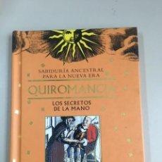 Libros de segunda mano: QUIROMANCIA. LOS SECRETOS DE LA MANO / OLGA LEMPIINSKA. Lote 270132333