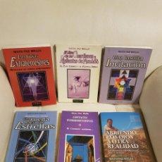 Libros de segunda mano: LOTE DE 6 LIBROS DEL CONTACTADO SIXTO PAZ WELLS - OVNIS - GUÍAS EXTRATERRESTRES - UFOLOGÍA - ÚNICOS. Lote 274374193