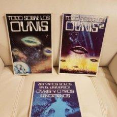 Libros de segunda mano: TODO SOBRE LOS OVNIS 1 Y 2 - ¿ESTAMOS SOLOS EN EL UNIVERSO? OVNIS Y OTROS FENÓMENOS - VARIOS AUTORES. Lote 274375088