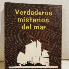Libros de segunda mano: VERDADEROS MISTERIOS DEL MAR -VICENT GADDIS-EL 1º LIBRO PUBLICADO SOBRE EL TRIANGULO DE LAS BERMUDAS. Lote 274376203
