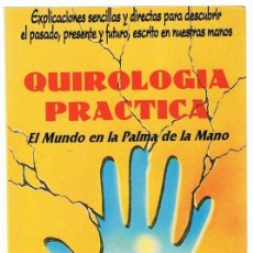 Libros de segunda mano: QUIROLOGIA PRACTICA ROBERT WALL. Lote 274428513