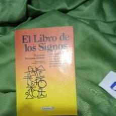 Libros de segunda mano: EL LIBRO DE LOS SIGNOS. Lote 276560783